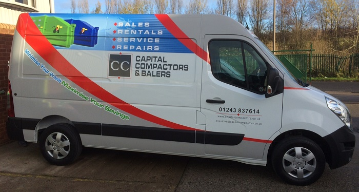 One Of Our Engineer's Vans