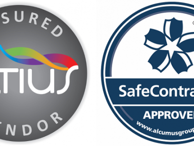 Altius and SafeContractor Logos