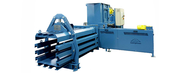 Captial Compactors and Balers Fully Automatic baler