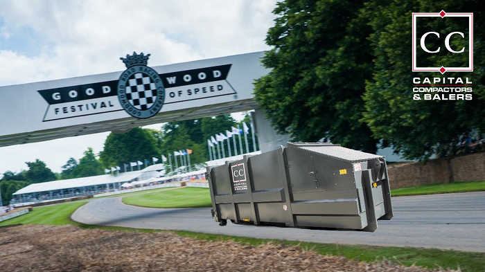 Capital Compactors Once Again Supporting The Goodwood Festival Of Speed