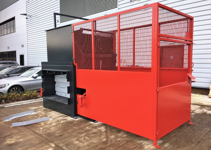 CS3 Static Compactor with Bin Lift