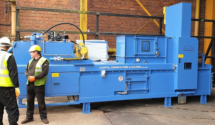 Whitworth Bros Baler Solution - Capital Compactors and Balers
