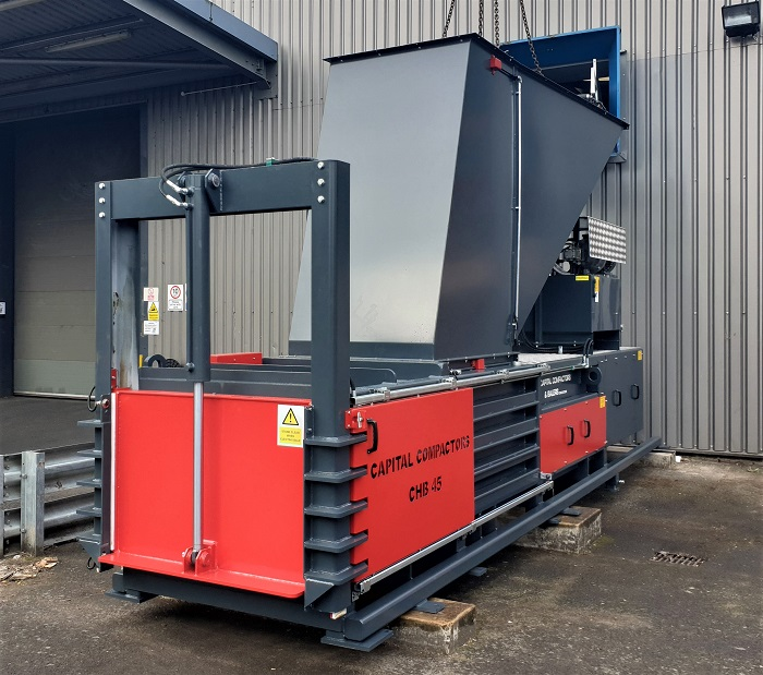 CHB45 Baler With Loading Chute